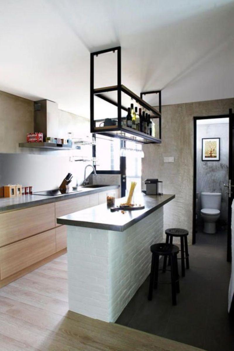 Brilliant small kitchen remodel ideas (24)