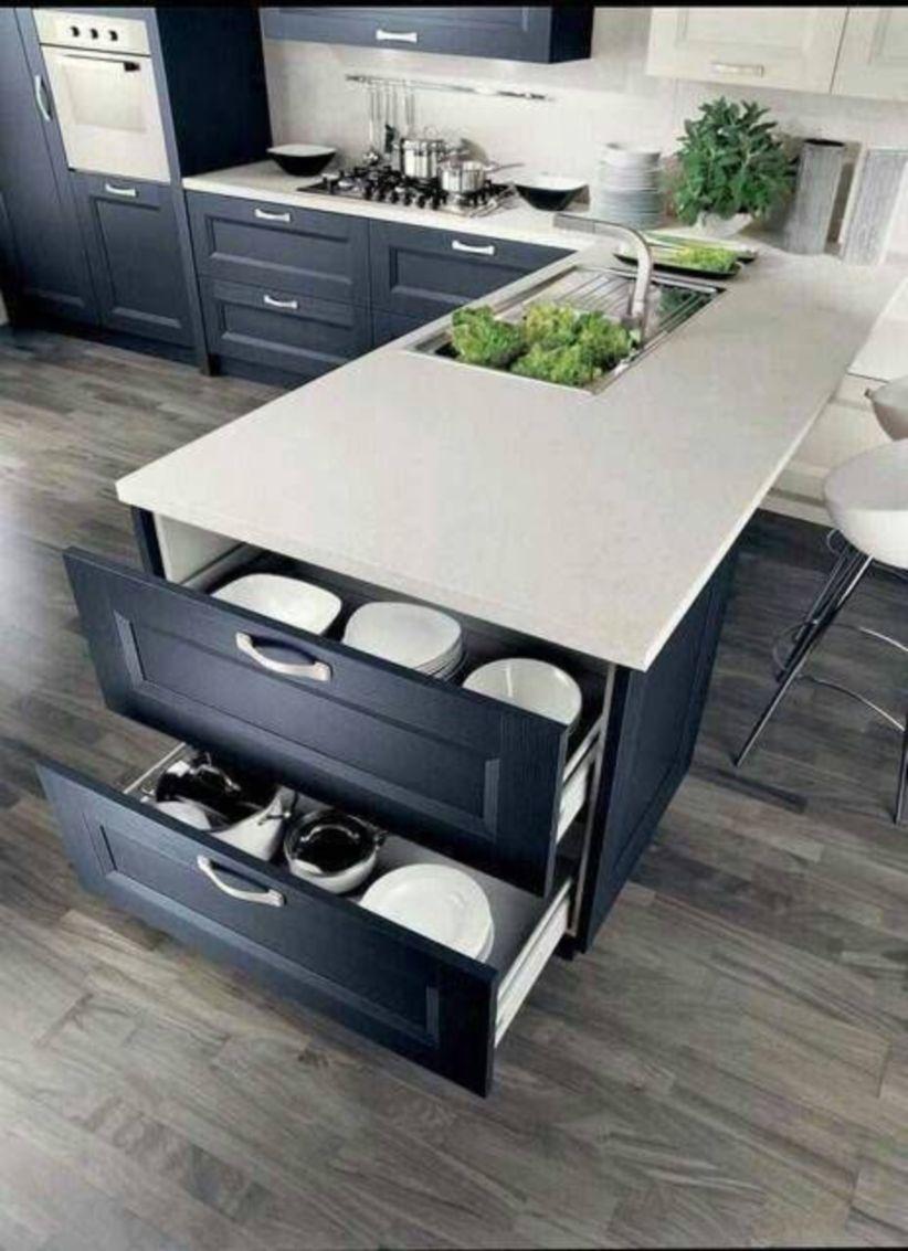 Brilliant small kitchen remodel ideas (34)