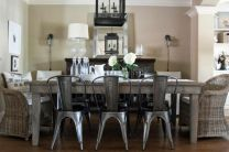 Comfy wood steel chair design for dining room (17)
