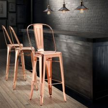 Comfy wood steel chair design for dining room (27)