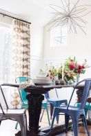 Comfy wood steel chair design for dining room (42)