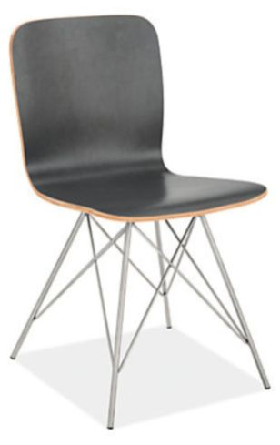 Comfy wood steel chair design for dining room (43)
