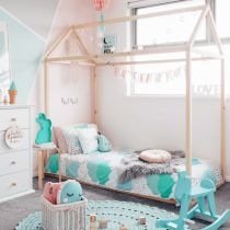 Cute pink kids bedroom designs ideas for small room (34)