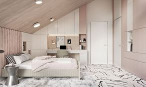 Cute pink kids bedroom designs ideas for small room (6)