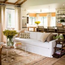 Elegant carpet ideas for large living room (23)