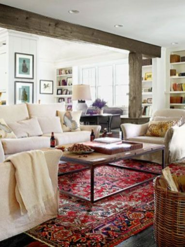 Elegant carpet ideas for large living room (9)