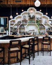 Fantastic home coffee bar design ideas you may try (10)