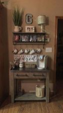Fantastic home coffee bar design ideas you may try (12)