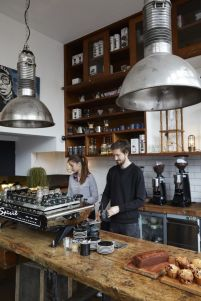 Fantastic home coffee bar design ideas you may try (9)