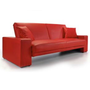 Fantastic red leather sofa designs ideas for family rooms (20)