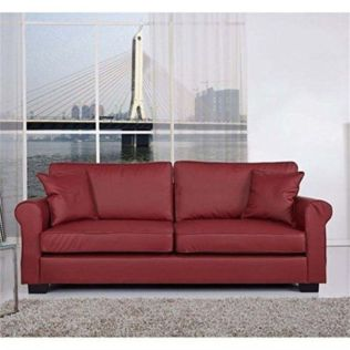 Fantastic red leather sofa designs ideas for family rooms (21)