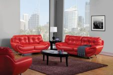 Fantastic red leather sofa designs ideas for family rooms (24)