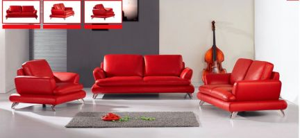 Fantastic red leather sofa designs ideas for family rooms (27)