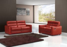 Fantastic red leather sofa designs ideas for family rooms (28)