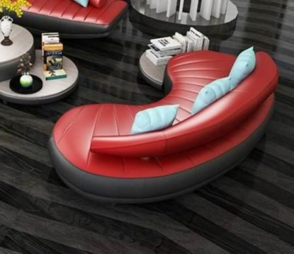 Fantastic red leather sofa designs ideas for family rooms (41)
