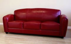 Fantastic red leather sofa designs ideas for family rooms (43)