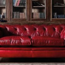 Fantastic red leather sofa designs ideas for family rooms (44)