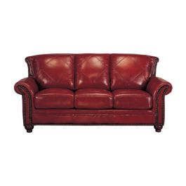 Fantastic red leather sofa designs ideas for family rooms (47)