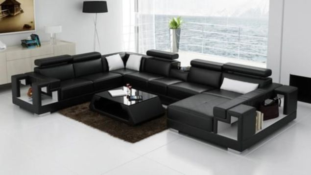 Fantastic red leather sofa designs ideas for family rooms (48)