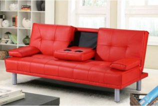 Fantastic red leather sofa designs ideas for family rooms (6)