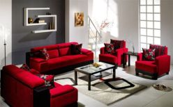 Fantastic red leather sofa designs ideas for family rooms (9)