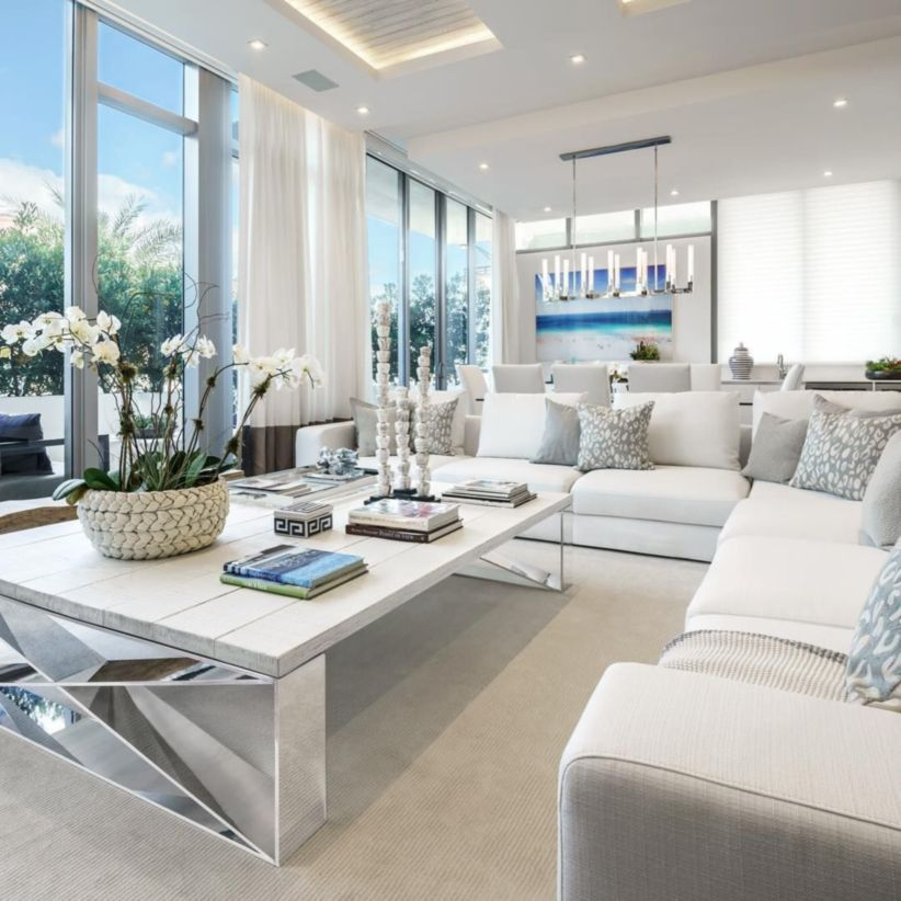 48 Gorgeous Coastal Living Room Decor Ideas