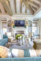 Gorgeous coastal living room decor ideas (22)