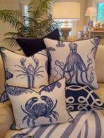 Gorgeous coastal living room decor ideas (26)
