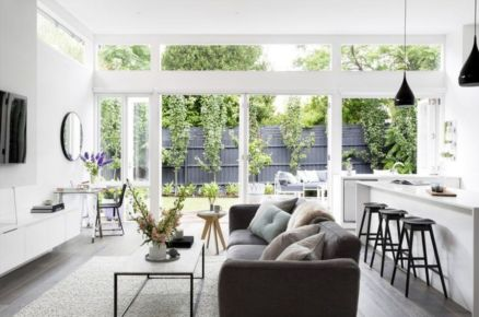 Gorgeous coastal living room decor ideas (31)