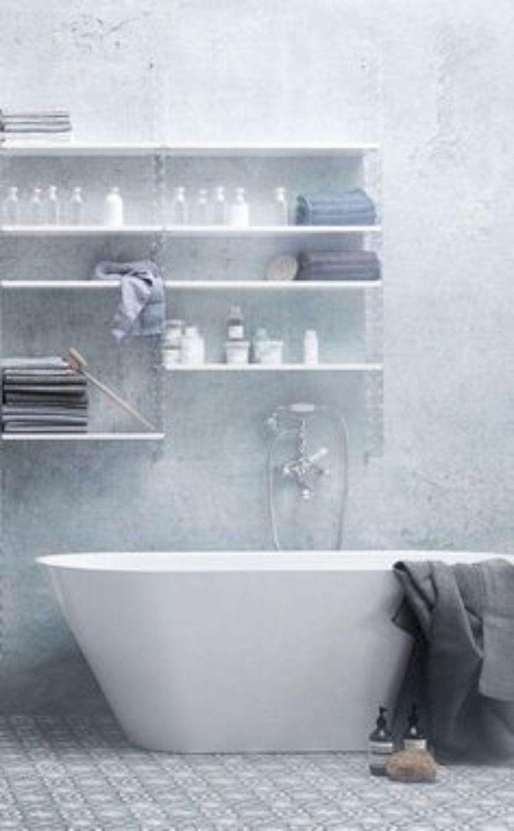 Inspiring scandinavian bathroom design ideas (19)