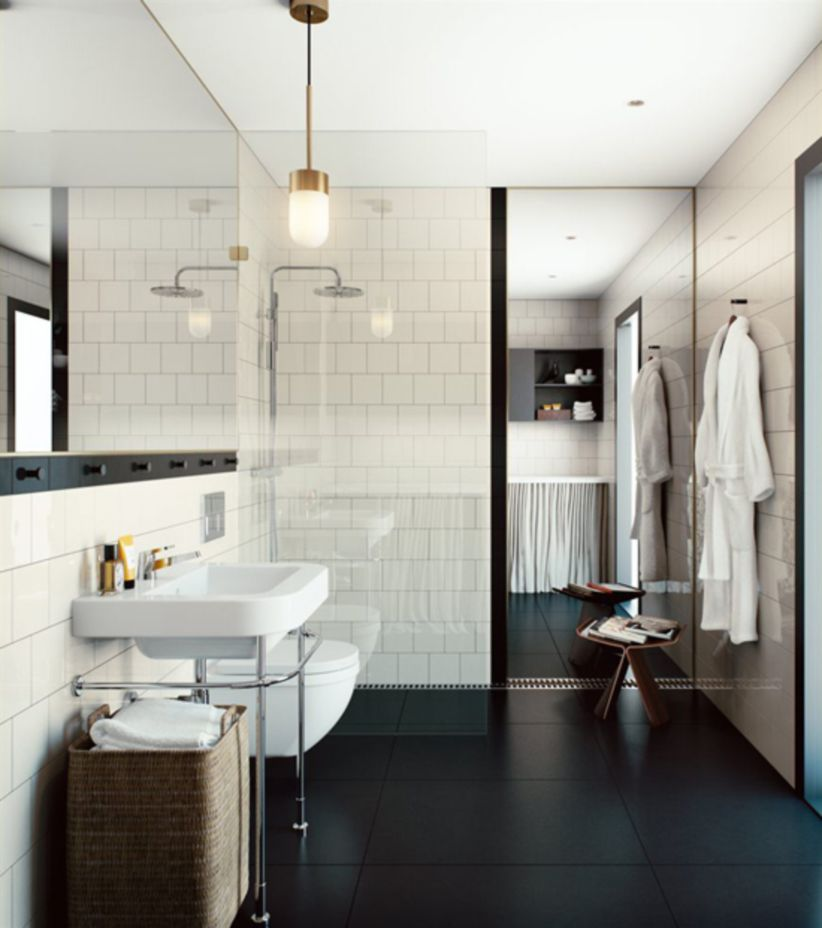 Inspiring scandinavian bathroom design ideas (35)