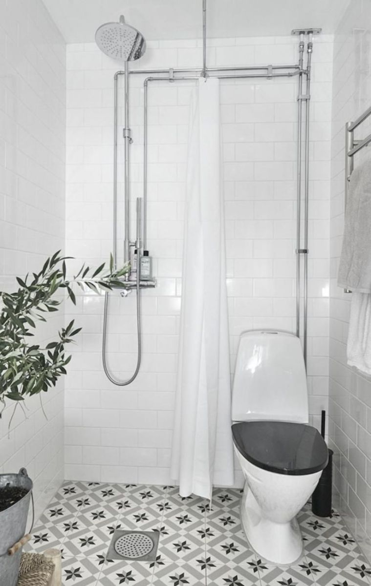 Inspiring scandinavian bathroom design ideas (39)