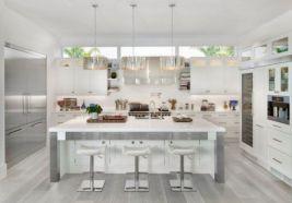 Modern white kitchen design ideas (27)