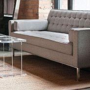 Stunning modern leather sofa design for living room (22)