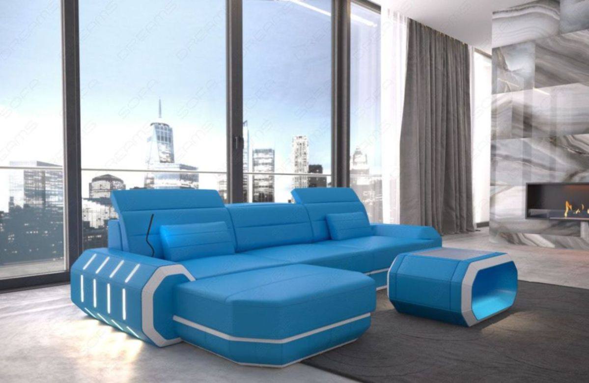 Stunning modern leather sofa design for living room (24)