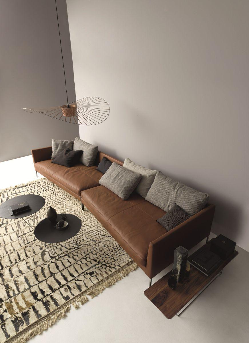 Stunning modern leather sofa design for living room (3)