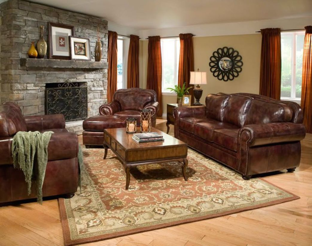 Stunning modern leather sofa design for living room (36)