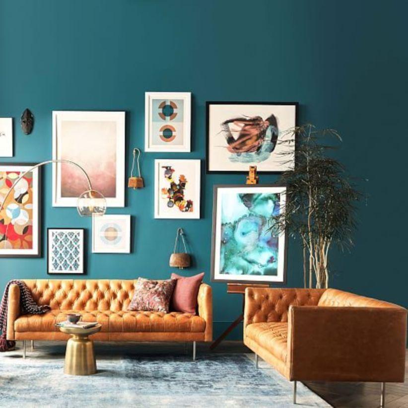 Stunning modern leather sofa design for living room (43)