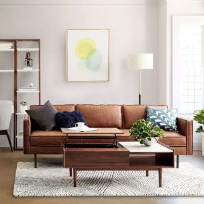 Stunning modern leather sofa design for living room (46)
