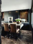 Stylish luxury black kitchen design ideas (11)
