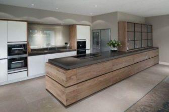 Stylish luxury black kitchen design ideas (16)