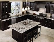 Stylish luxury black kitchen design ideas (25)