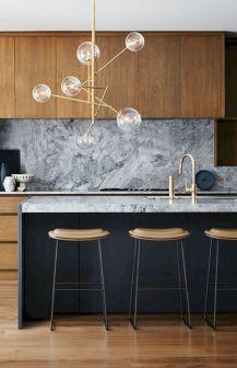 Stylish luxury black kitchen design ideas (26)