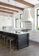 Stylish luxury black kitchen design ideas (32)