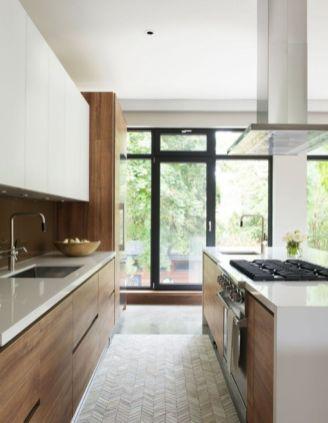 Totally inspiring modern kitchen cabinet design decor ideas (12)