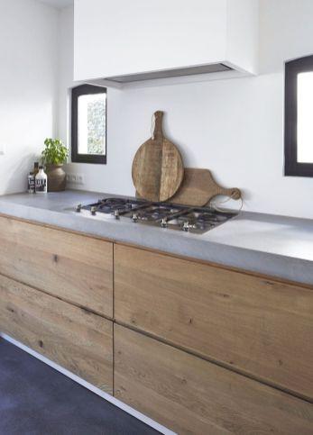 Totally inspiring modern kitchen cabinet design decor ideas (13)