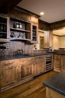 Totally inspiring modern kitchen cabinet design decor ideas (23)