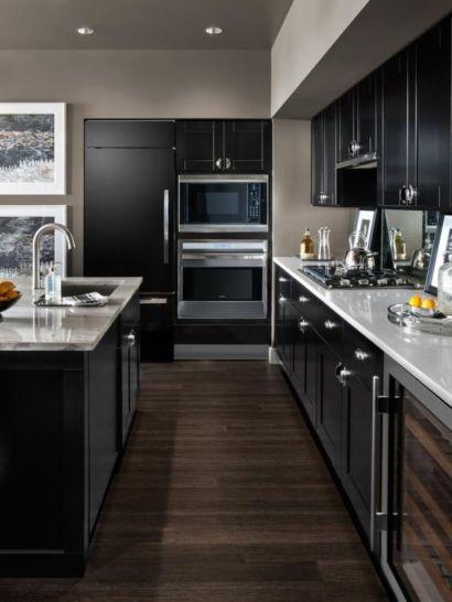 Totally inspiring modern kitchen cabinet design decor ideas (36)