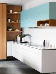 Totally inspiring modern kitchen cabinet design decor ideas (8)