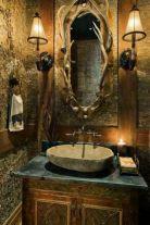 Amazing rustic mountain farmhouse decorating ideas (19)